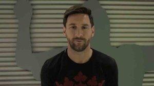 Messi habló del show del Cirque du Soleil