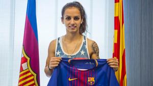 Natasa Andonova es la nueva atacante del Barça Femenino para la temporada 2017/18