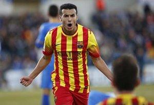 Pedro Rodríguez, con tres goles en 8 minutos, lideró una reacción histórica del FC Barcelona en 2013 en el Coliseum Alfonso Pérez de Getafe