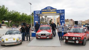 Podio final del Rally Costa Brava Històric