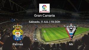 Previa del encuentro: Las Palmas recibe al CD Mirandés