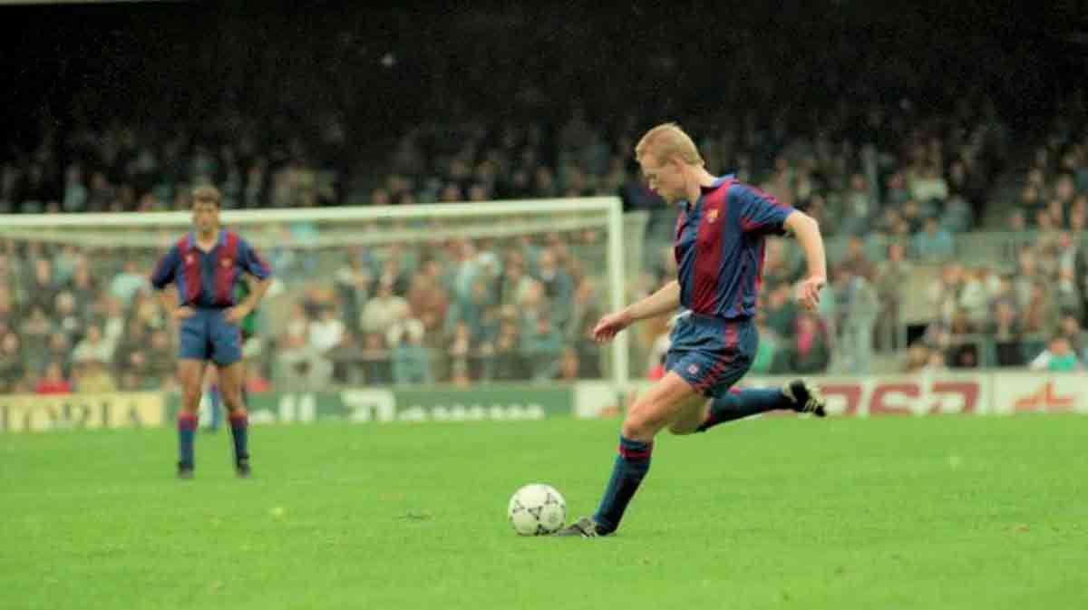 El primer debut de Ronald Koeman en el Camp Nou