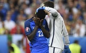 Samuel Umtiti se mostró muy decepcionado