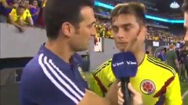 Scaloni aclara su relación con Dybala delante del propio jugador