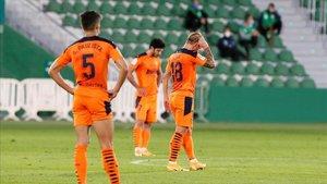 Segundo peor arranque liguero del Valencia con un balance de dos triunfos, un empate y cuatro derrotas