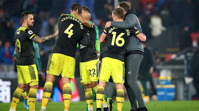 El Southampton se impone en casa del Crystal Palace