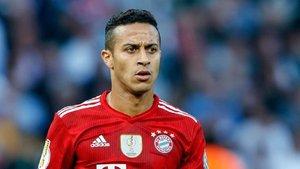 Thiago Alcántara no atraviesa su mejor momento en el Bayern