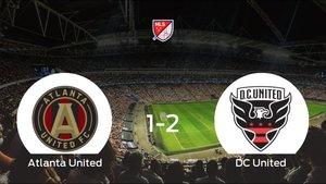 El DC United se lleva tres puntos tras vencer 1-2 al Atlanta United