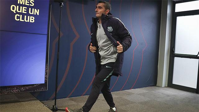 Valverde confirmó que habrá cambios ante el Celta