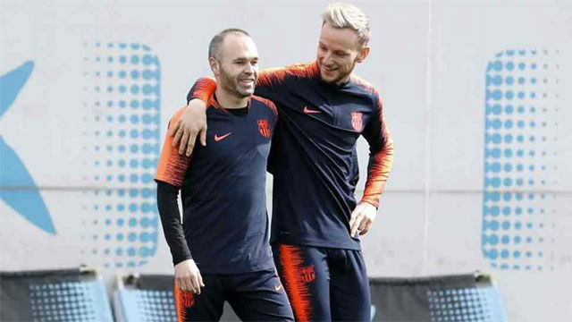 Valverde no despejó la incognita de Iniesta