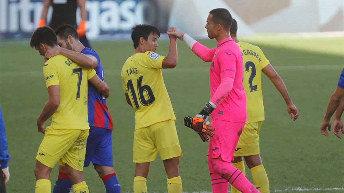 El Villarreal remonta y se lleva los tres puntos ante el Eibar