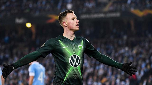 Yannick Gerhardt aumentó la ventaja ante el Malmö con el segundo del Wolfsburgo