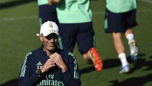 Zidane tiene problemas con muchos jugadores de la plantilla del Real Madrid
