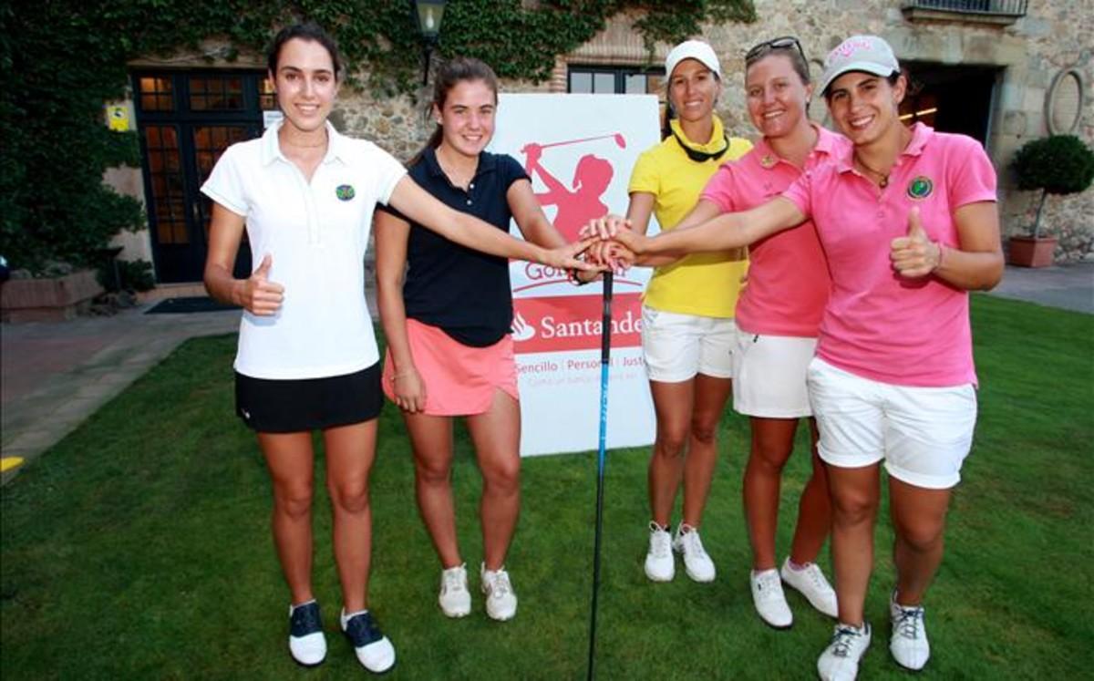 El golf femenino profesional aterriza en Vallromanes