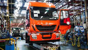 Fábrica de camiones de la marca Iveco.