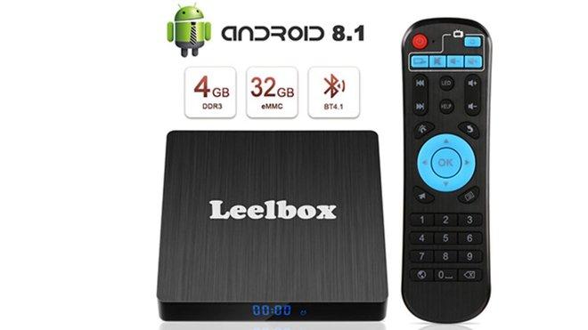 Leelbox Q4s Smart TV Box