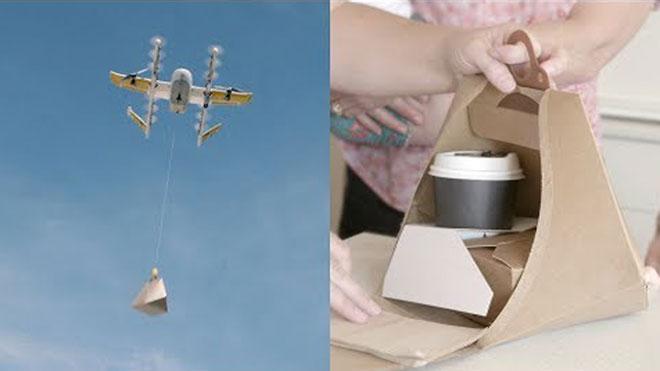 Google podrá entregar paquetes con drones en Estados Unidos.