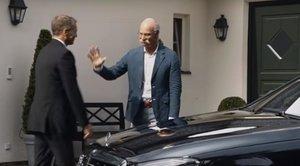 Fotograma del vídeo que BMW dedica a Zetsche.