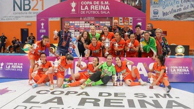 El Burela se lleva en los penaltis una emocionante Copa de la Reina