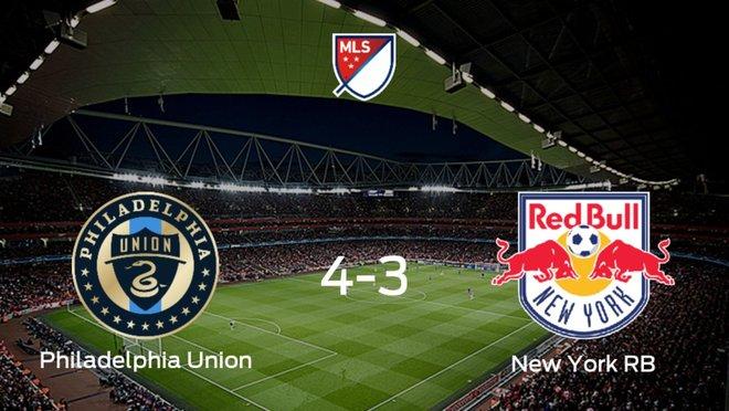El Philadelphia Union estará en cuartos de final tras eliminar al New York RB en la prórroga (4-3)