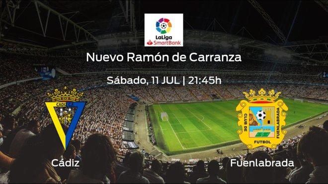 Previa del partido: el Cádiz defiende el liderato ante el CF Fuenlabrada