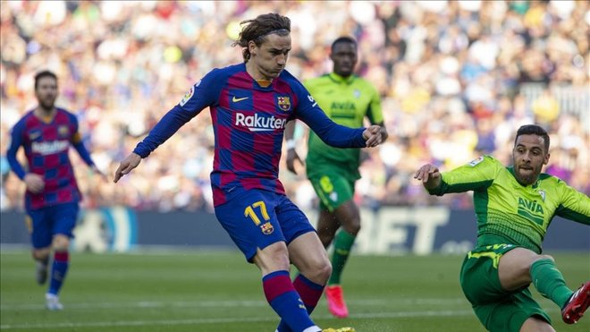 Griezmann vuelve al once junto a Messi y Suárez