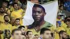 Aficionados brasileños animando a su equipo en las elimnatorias del Mundial