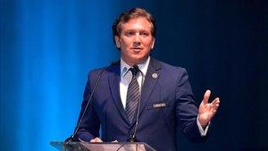 Alejandro Domínguez, presidente de la CONMEBOL, tendrá una difícil decisión