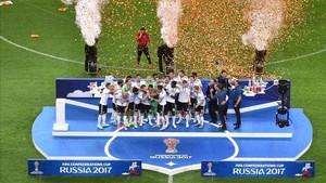 Alemania se estrenó en el palmarés de la Copa Confederaciones