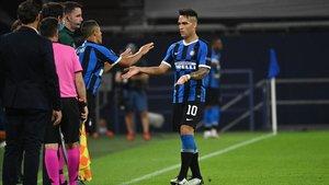 Alexis reemplazó a Lautaro ante el Getafe