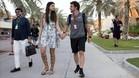Alonso y su novia