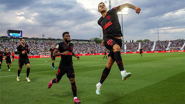 Asi dio Vitolo los tres puntos al Atlético