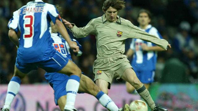 Así fue el debut de Messi hace 15 años