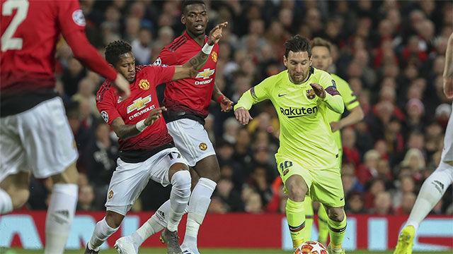 Así llegan los cracks del Barça y Manchester al decisivo partido