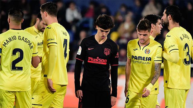 El Atlético perdona ante un Villarreal combativo