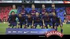 El Barça jugó toda la segunda parte con diez
