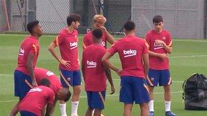 El Barça sigue con su puesta a punto