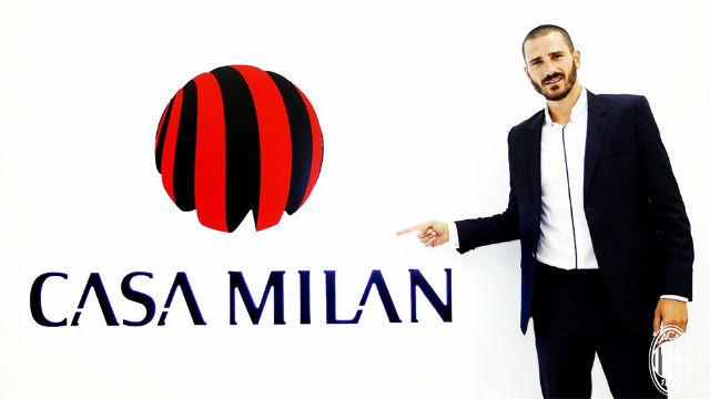 Bonucci ya es jugador del Milan