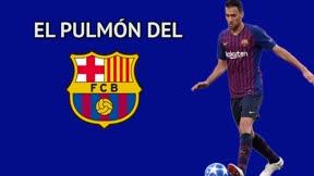 Busquets, el pulmón del Barça