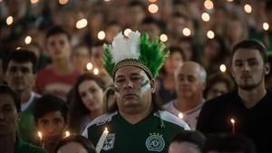 Chapecó condecora a sus víctimas con una ceremonia