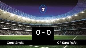 El Constància y el Sant Rafel sólo sumaron un punto (0-0)