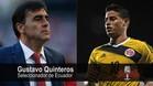 La crítica del seleccionador ecuatoriano a James por sus palabras