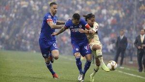 Cruz Azul y América también disputaron la final del 2013 en el Estadio Azteca