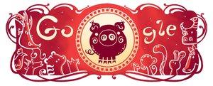 Doodle Año Nuevo Chino