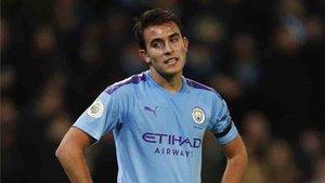 Eric García es titular con el Manchester City