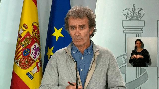 España alcanza 13.716 casos de coronavirus y 558 fallecimientos