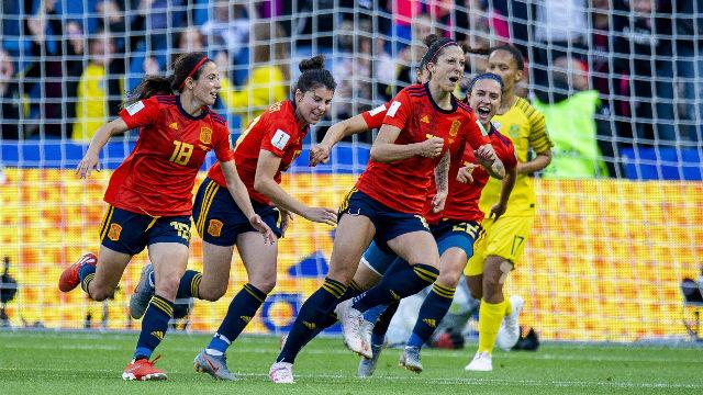 España debuta en el Mundial de Francia con victoria