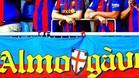 Esta es la pancarta de la Penya Almogàvers del Barcelona