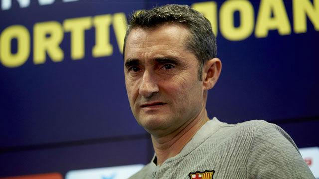 La extraña explicación de Valverde a sus últimos días en el Barça