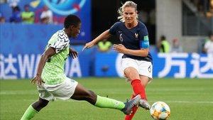 Francia dominó pero le costó doblegar a Nigeria